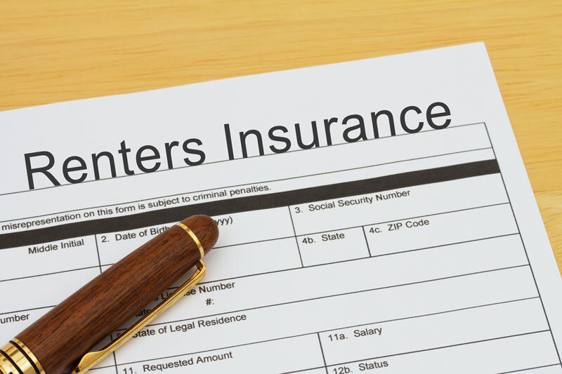 renters insurance application form